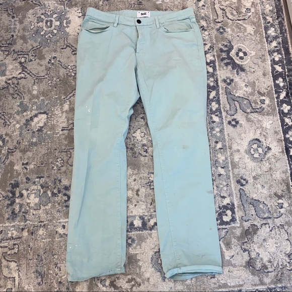 PAIGE Other - Men's Teal Paige Denim Pants